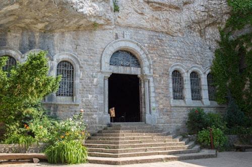 Photo entrée de la Grotte