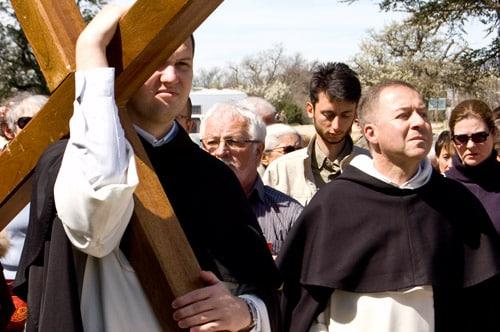 Photo début du chemin de croix